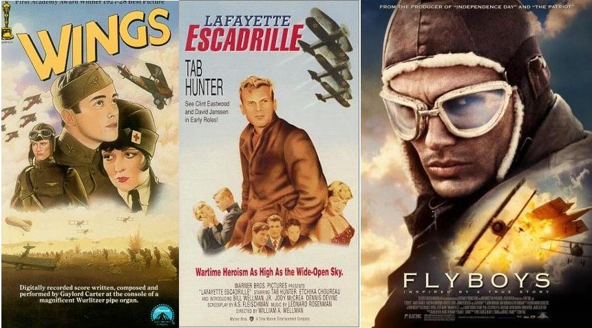 Lafayette Escadrille  + wings.JPG