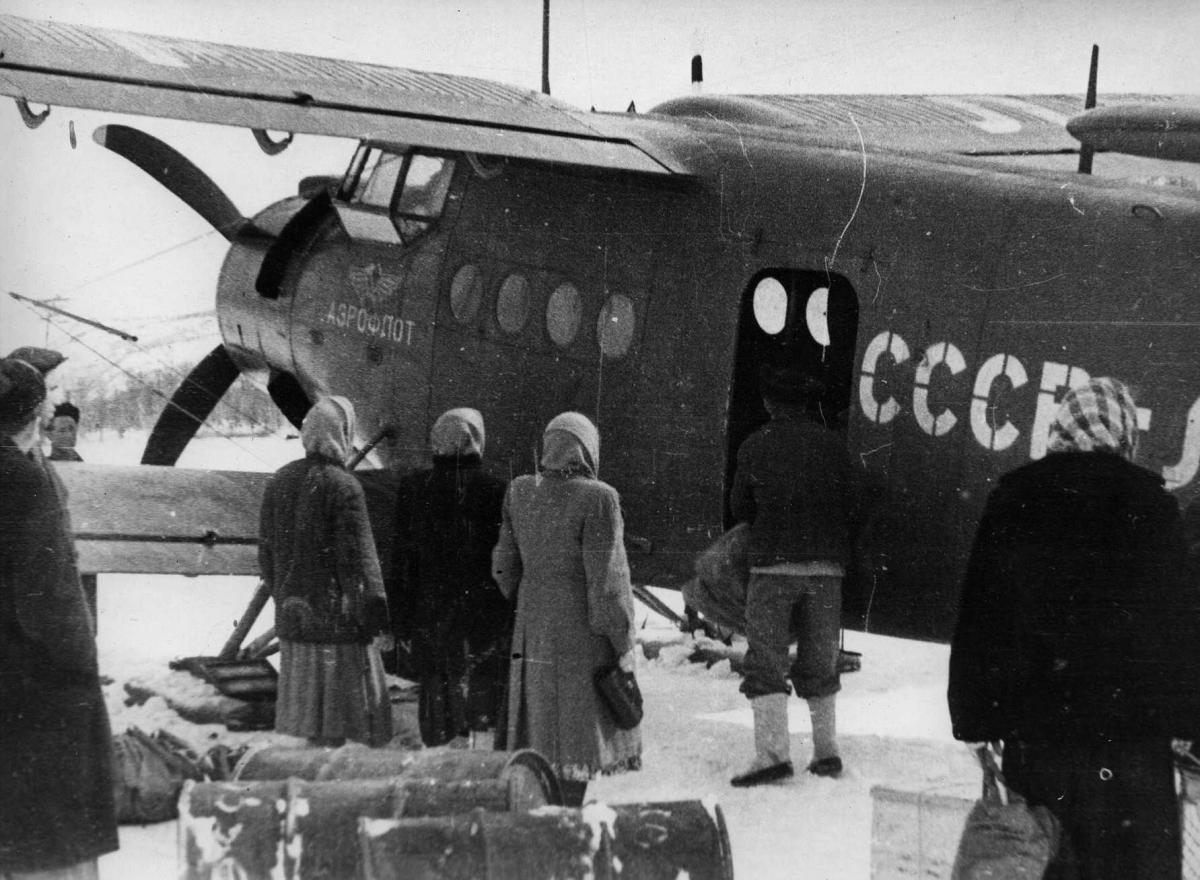 Музей , Ан-2 , 50-е годы..jpg