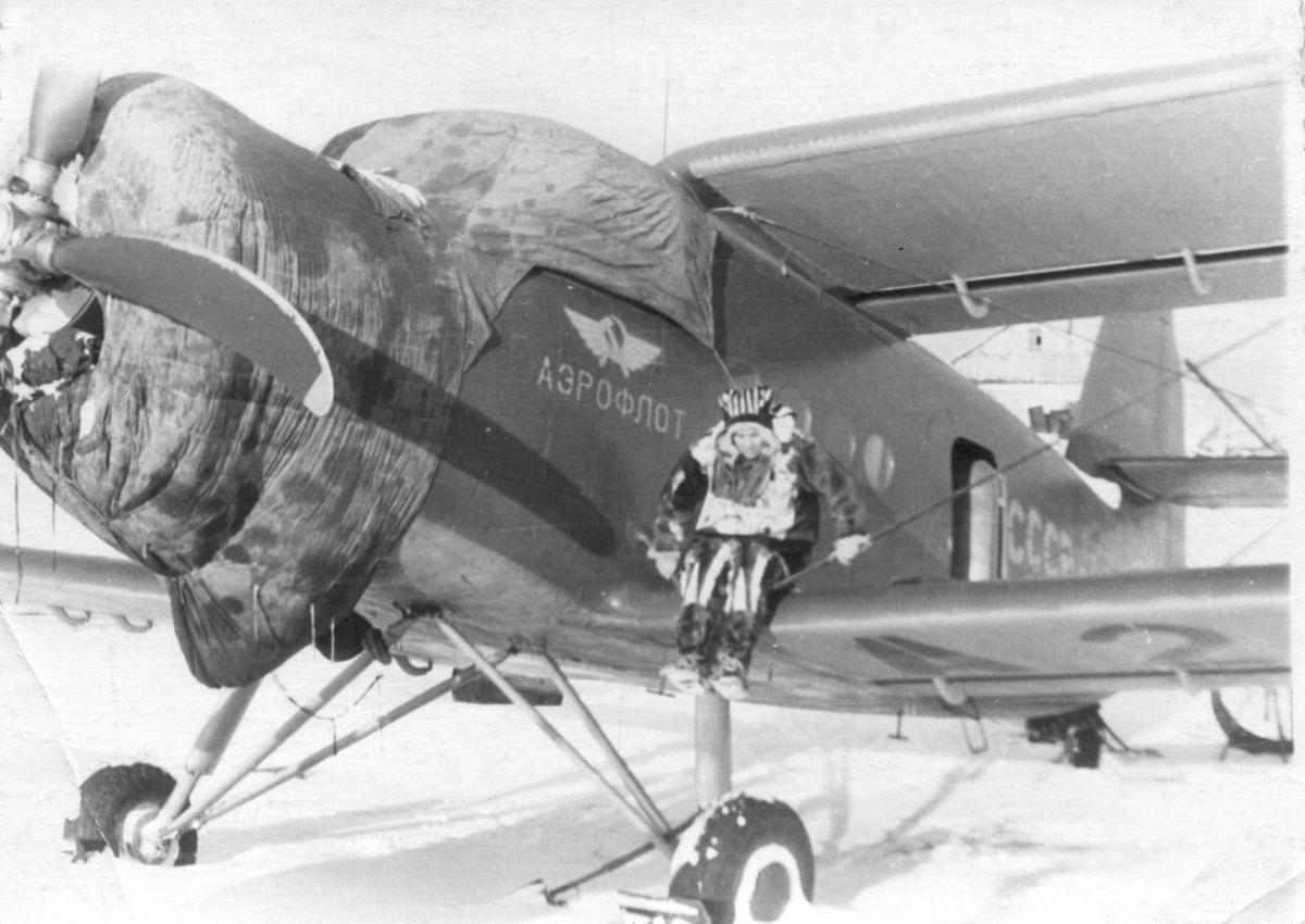 Музей , Ан-2 в Палане 1952г.Белов В.Д..jpg