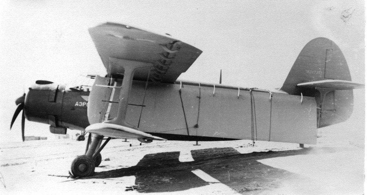 Музей , Ан-2, доставка плоскости в Эссо..jpg