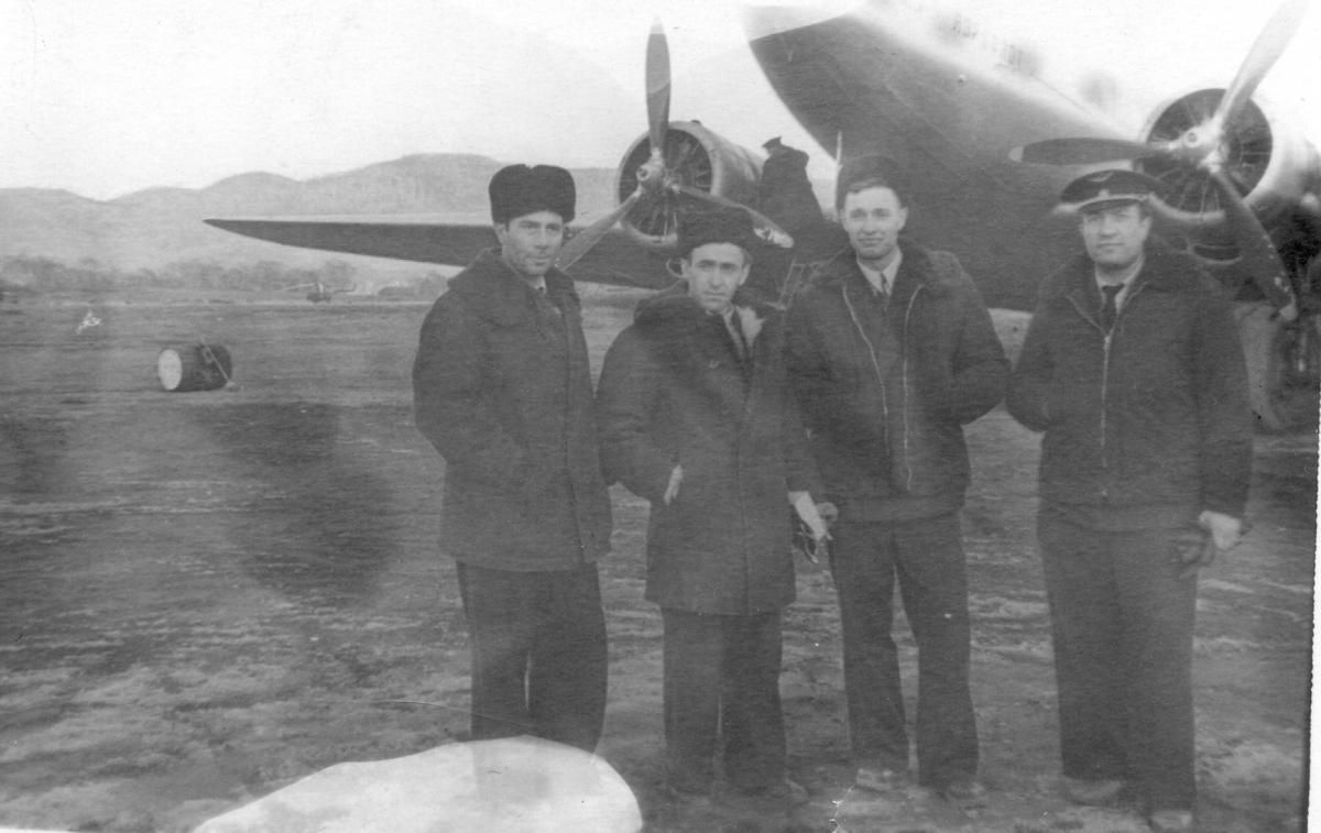 Музей , Ли-2, Макаров А.А.-КВС, Филиппов Е.И.-ВП, Нагрный П..jpg