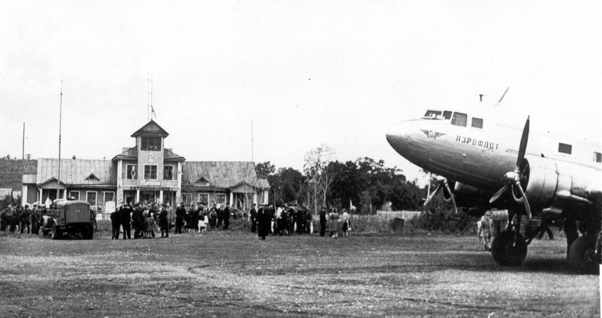Музей , Халактырка, Ли-2, 1959г..jpg