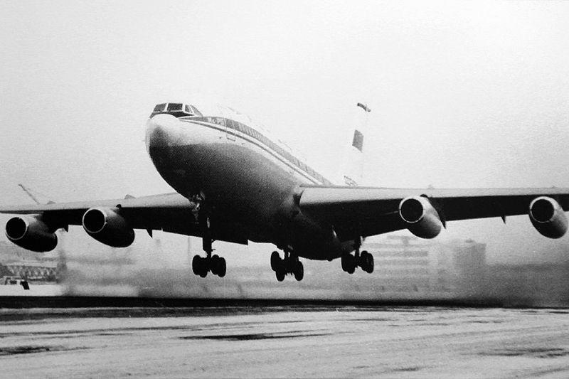 Первый взлет Ил-86 с Ходынки (22.12.1976).JPG